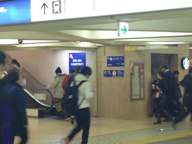 キレイモ新宿西口店へのアクセスマップ画像02