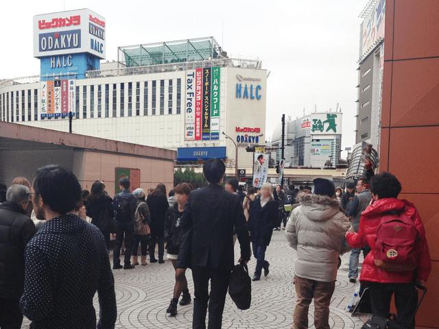 キレイモ新宿西口店へのアクセスマップ画像03